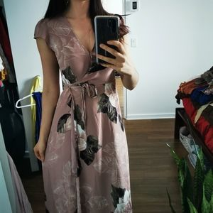 Dynamite Blush Pink Maxi Dress